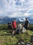 Außendiensttreffen in den Bergen