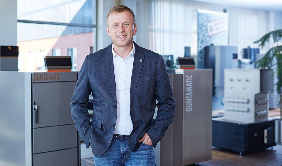 Geschäftsführer Prok. Ing. Günther Huemer - Guntamatic Heiztechnik GmbH