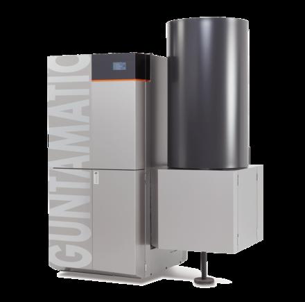Biocom Energiekorn Pflanzenheizung 30/50 kW