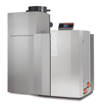 Vario Scheitholz-/Pellets-Kombinationsanlage 20/30 kW