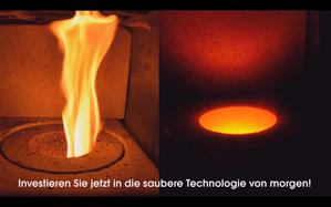 flammenlose Zyklon-Verbrennungstechnologie